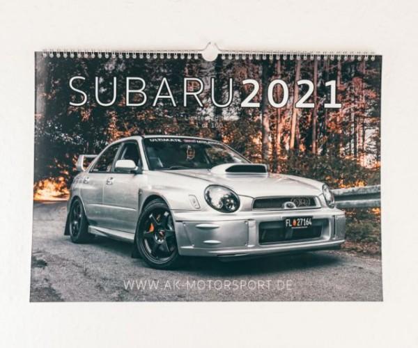 Subaru Kalender 2021 -