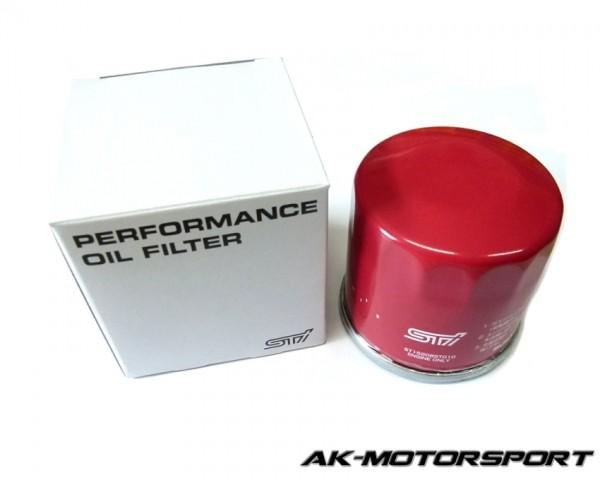 STi Performance Ölfilter - Subaru GC/GF 1992-2000, Subaru GD/GB 2001-2002, Subaru GD/GB 2003-2005, Subaru GD/GB 2006-2007, Subaru GE/GR 2008-2010, Subaru GR/GV 2011-2013, Subaru Legacy 1989-on, Subaru VA 2014+